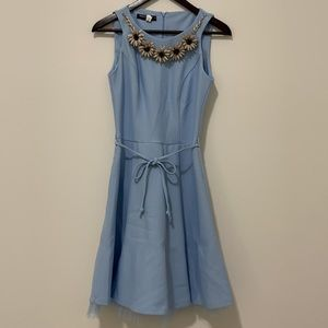 RINASCIMENTO blue dress with tulle
